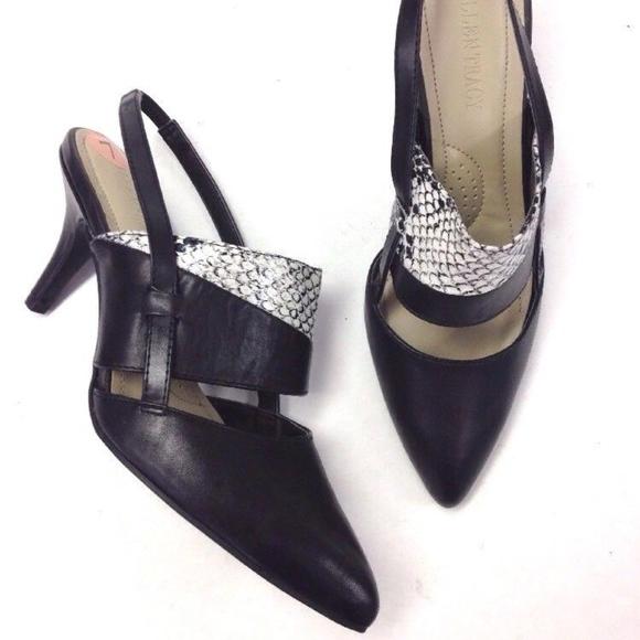 045e927f03a8 Ellen Tracy Shoes - ELLEN TRACY POINTY SLINGBACKS SHOES LOW HEEL 7